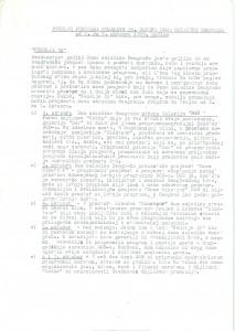 Predlog programa proslave 25 godina rada Doma omladine Beograda, 2-7. oktobar 1989.