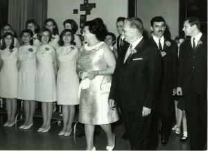 Tito i Jovanka u DOB-u, 25. maj 1968.