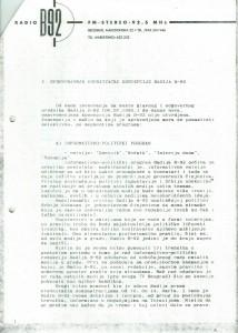 Uređivačka koncepcija radija B-92, str. 2.