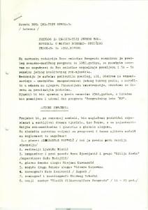 Predlog za realizaciju jednog rok-mjuzikla u okviru scensko-muzičkog programa za 1982. godinu, 17. decembar 1981, str. 1.