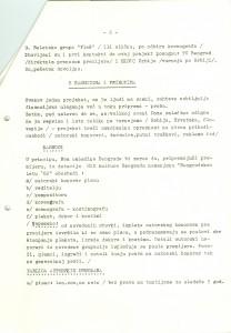 Predlog za realizaciju jednog rok-mjuzikla u okviru scensko-muzičkog programa za 1982. godinu, 17. decembar 1981, str. 2.