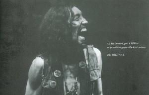 Pip Simons u Domu omladine Beograda, 1971.