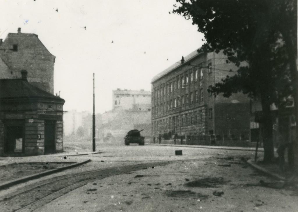 Dečanska ulica, oktobar 1944. godine